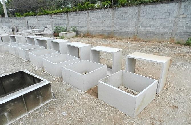 Caixa de Concreto